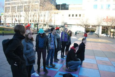 Fall 2009 - Classics vs. Anthropology Human Chess